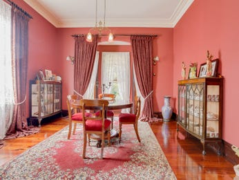 Pink dining room idea from a real Australian home - Dining Room photo 7836889