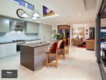 Modern open plan kitchen design using tiles - Kitchen Photo 8120737