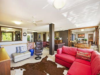 Red living room idea from a real Australian home - Living Area photo 8945409