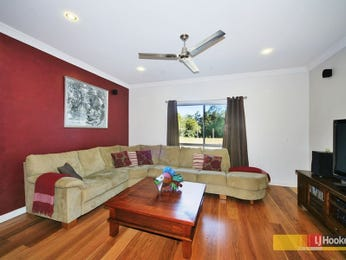 Red living room idea from a real Australian home - Living Area photo 105371