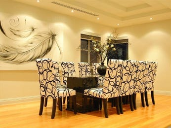 Blue dining room idea from a real Australian home - Dining Room photo 368356