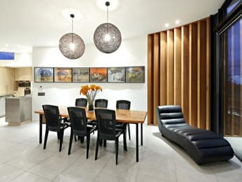 Black dining room idea from a real Australian home - Dining Room photo 105453