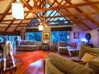 Brown living room idea from a real Australian home - Living Area photo 16504441
