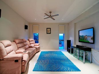 Pink living room idea from a real Australian home - Living Area photo 651513