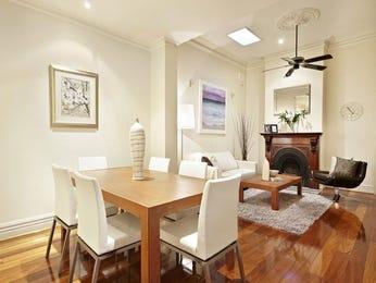 Art deco dining room idea with cork & ceiling skylight - Dining Room Photo 108297