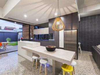 Chandelier in a kitchen design from an Australian home - Kitchen Photo 8993209