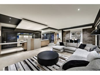 Black living room idea from a real Australian home - Living Area photo 15499121