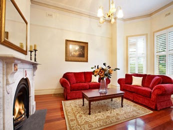 Brown living room idea from a real Australian home - Living Area photo 437939
