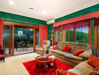 Green living room idea from a real Australian home - Living Area photo 7529869