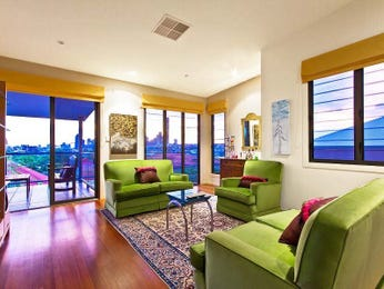 Green living room idea from a real Australian home - Living Area photo 874129