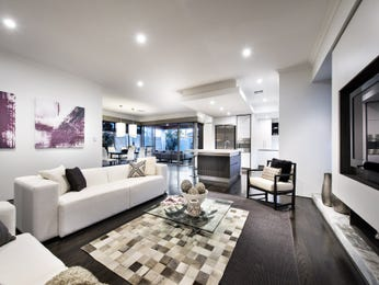 Grey living room idea from a real Australian home - Living Area photo 16773389