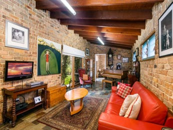 Red living room idea from a real Australian home - Living Area photo 7804785