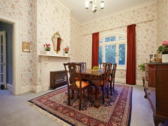 Red dining room idea from a real Australian home - Dining Room photo 7797893