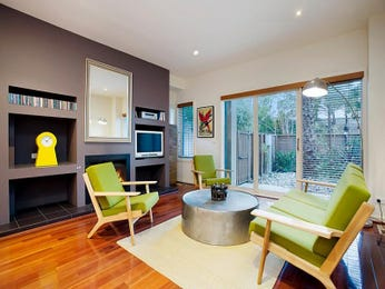 Green living room idea from a real Australian home - Living Area photo 7283761