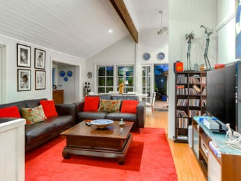 Brown living room idea from a real Australian home - Living Area photo 7278813
