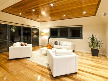 White living room idea from a real Australian home - Living Area photo 7512089