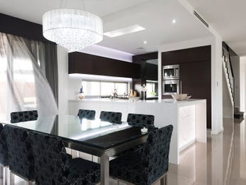 Black dining room idea from a real Australian home - Dining Room photo 7068465