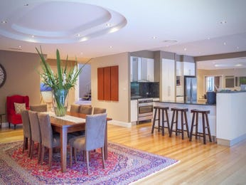 Purple dining room idea from a real Australian home - Dining Room photo 8252541