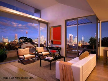 Cream living room idea from a real Australian home - Living Area photo 8840617