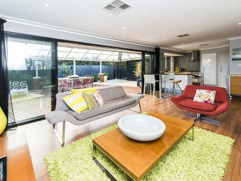 Green living room idea from a real Australian home - Living Area photo 8641589