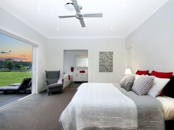 Grey bedroom design idea from a real Australian home - Bedroom photo 15472197