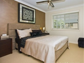 Beige bedroom design idea from a real Australian home - Bedroom photo 363796