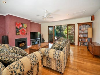 Pink living room idea from a real Australian home - Living Area photo 17269777