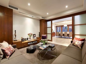 Brown living room idea from a real Australian home - Living Area photo 8940157