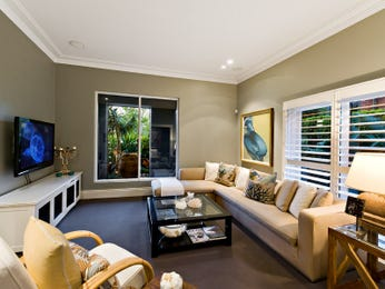 Brown living room idea from a real Australian home - Living Area photo 2324901