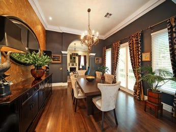 Orange dining room idea from a real Australian home - Dining Room photo 7440057