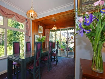 Green dining room idea from a real Australian home - Dining Room photo 366280