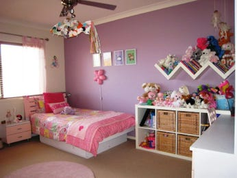 Pink bedroom design idea from a real Australian home - Bedroom photo 476057