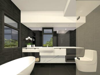 Ceramic in a bathroom design from an Australian home - Bathroom Photo 15654197