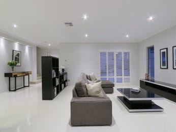 Black living room idea from a real Australian home - Living Area photo 14845749