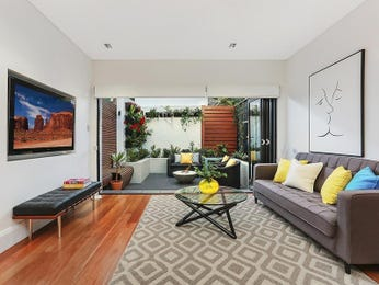 Black living room idea from a real Australian home - Living Area photo 17186365
