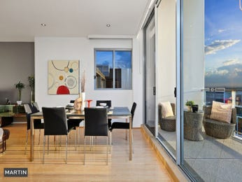 Modern dining room idea with floorboards & floor-to-ceiling windows - Dining Room Photo 15008161