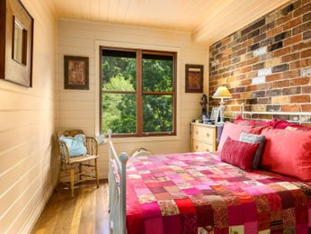 Red bedroom design idea from a real Australian home - Bedroom photo 15306877