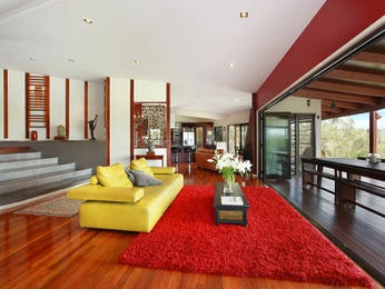 Red living room idea from a real Australian home - Living Area photo 7950053