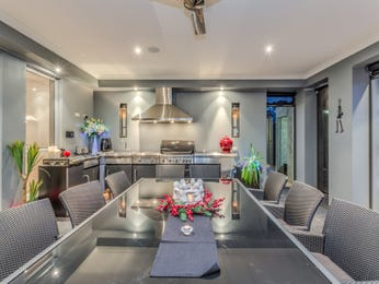 Grey dining room idea from a real Australian home - Dining Room photo 8068817