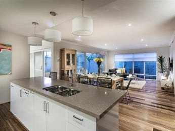 Modern kitchen-living kitchen design using floorboards - Kitchen Photo 8039761