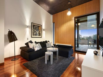 Black living room idea from a real Australian home - Living Area photo 14926821
