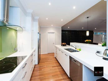 Pendant lighting in a kitchen design from an Australian home - Kitchen Photo 8687029