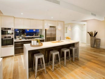 Floorboards in a kitchen design from an Australian home - Kitchen Photo 7102173