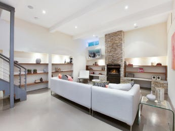 White living room idea from a real Australian home - Living Area photo 7595901