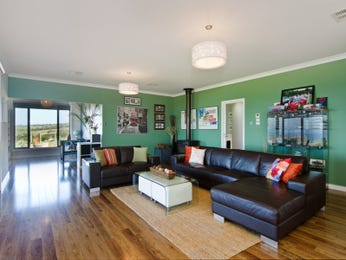 Green living room idea from a real Australian home - Living Area photo 8651113