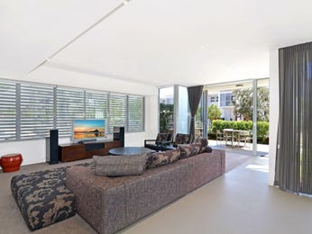 Grey living room idea from a real Australian home - Living Area photo 7105273