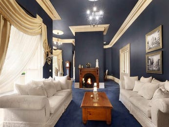 Blue living room idea from a real Australian home - Living Area photo 867628