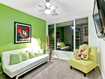 Green living room idea from a real Australian home - Living Area photo 992604