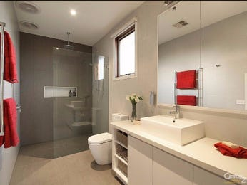 Ceramic in a bathroom design from an Australian home - Bathroom Photo 15022965