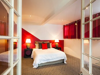 Red bedroom design idea from a real Australian home - Bedroom photo 15522557